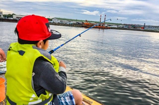 広島の釣り船【倖矢丸】は女性・子供も安心してご利用可能!